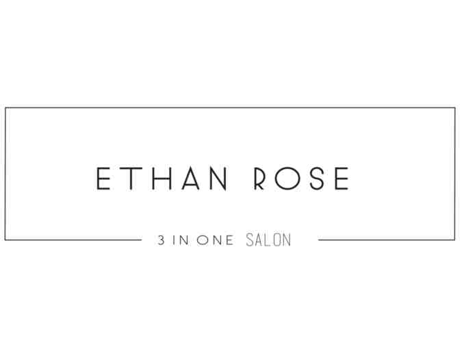 Haircut and Blowout at Ethan Rose Salon