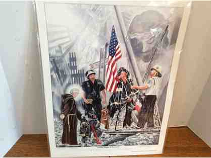 9/11 Memorial Print - Signed by Artist