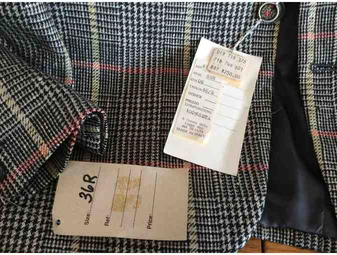 BRAND NEW WITH TAGS, Italian Tailored Sport Coat - La Aristocratico - Photo 2