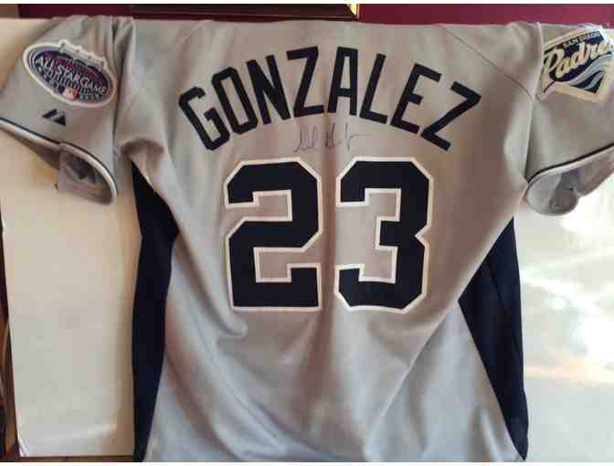 AUTOGRAPHED Adrian Gonzalez All Star Game Jersey