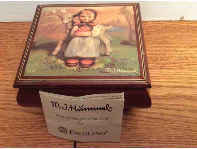 Beautiful M. J. Hummel Music Box