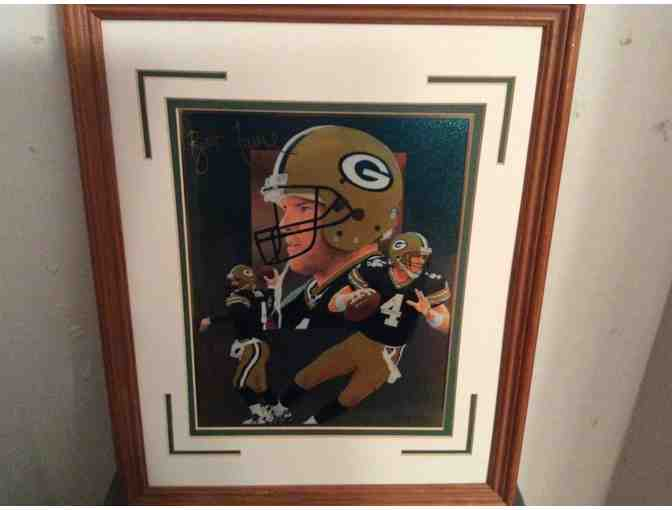 Brett Favre - Hologram Photo