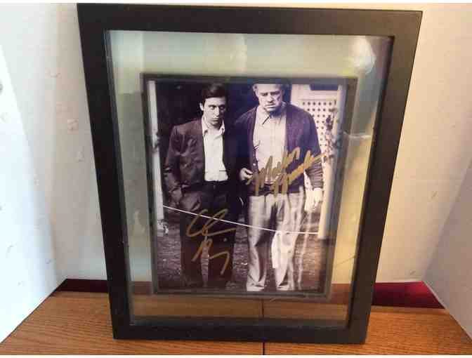 Godfather Signed Photo by Marlon Brando and Al Pacino