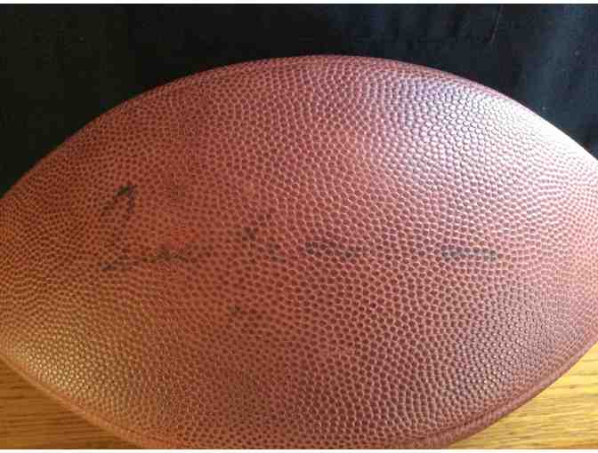 Terry Bradshaw Signed Football
