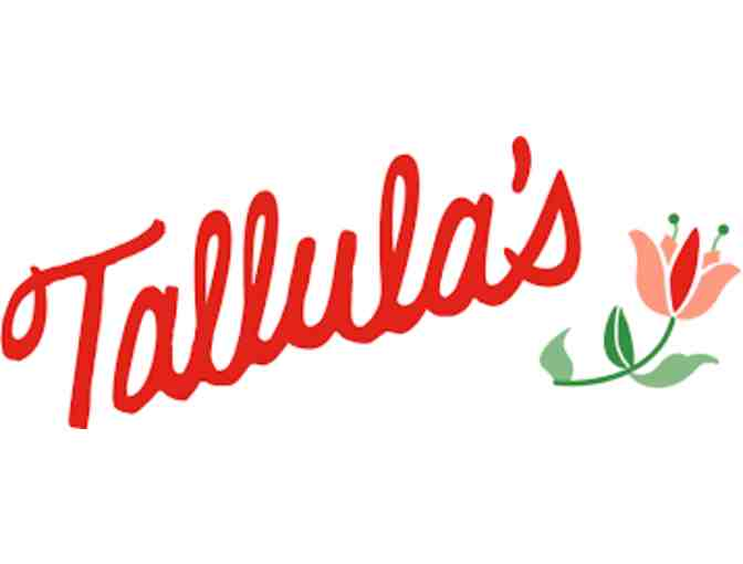 $100 Gift Card for Tallula's Restaurant - Photo 5