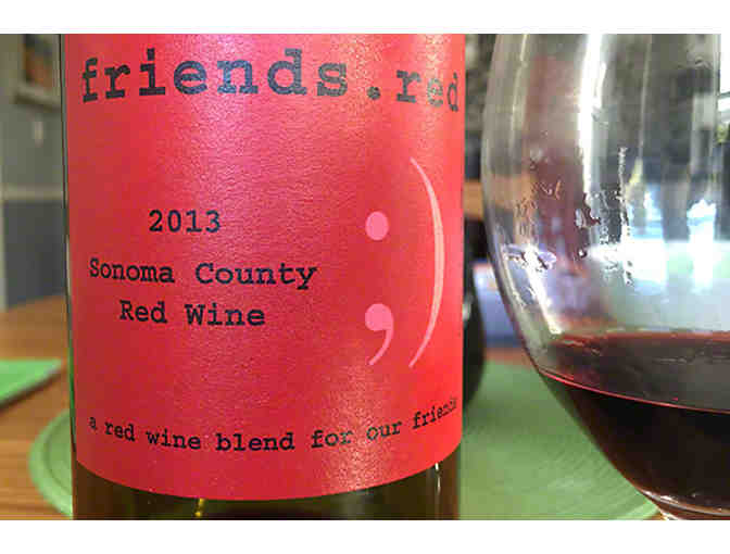 6 Bottles 2013 Red Sonoma County Red Wine Blend