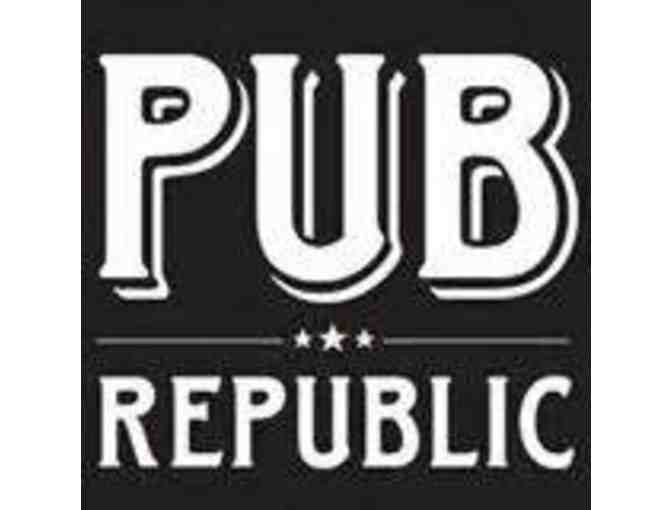 $25 Gift Certificate at Pub Republic