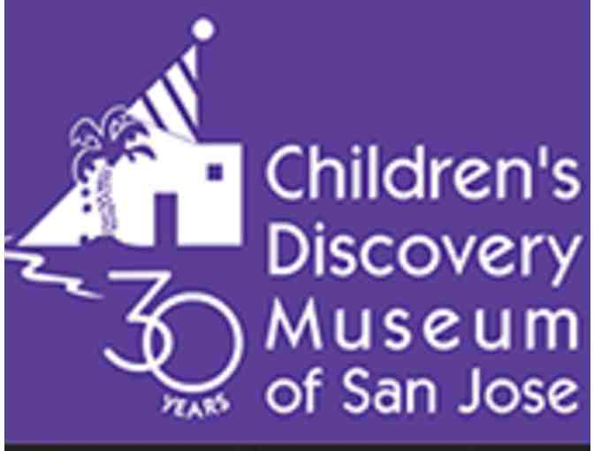 4 Passes to Children's Discovery Museum of San Jose - Photo 1