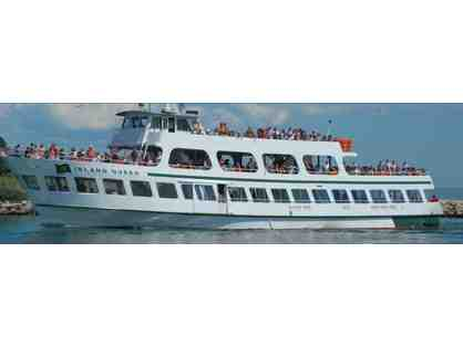 4 Round Trip Tickets on Island Queen Ferry & Tote Bag