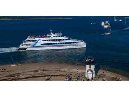 2 Round Trip Tickets on Hy-Line Cruises & Tote Bag