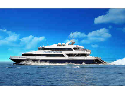 2 Round Trip Tickets on Steamship Authority Ferry & Tote Bag