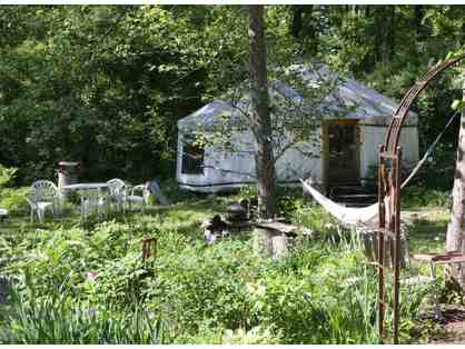 Overnight Stay in Yurt in Shelburne Falls Area and Dining Gift Cards
