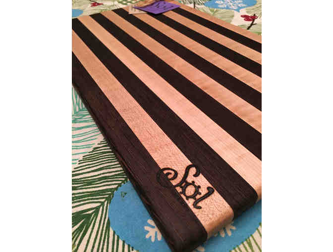 "Handmade Cutting Board from local crafter Sol Boards, 10"" x 16"" - Photo 2"