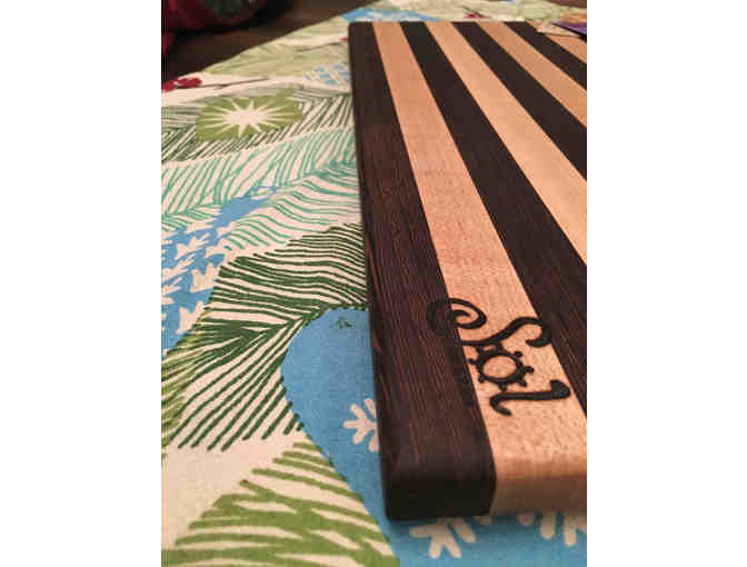 "Handmade Cutting Board from local crafter Sol Boards, 10"" x 16"" - Photo 3"