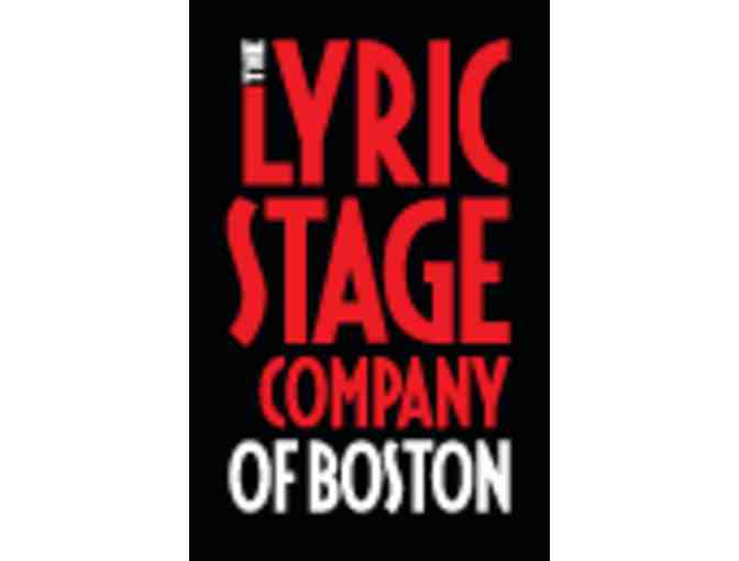 Lyric Stage Company of Boston: Two tickets to Any Production
