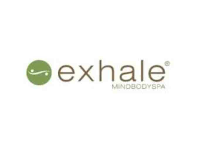 Exhale: Choice of Fusion Massage or True Facial
