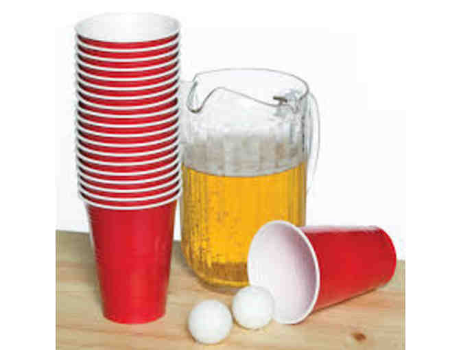 Coed Beer Pong with Mira & Jeff Woods