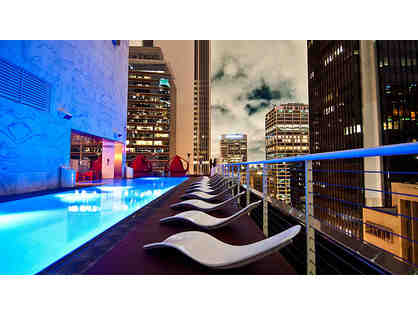 Dinner for two and one night's stay at the Standard Hotel DTLA