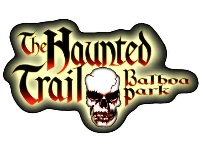 Admission for Two - The Haunted Trail Balboa Park (2 of 2)