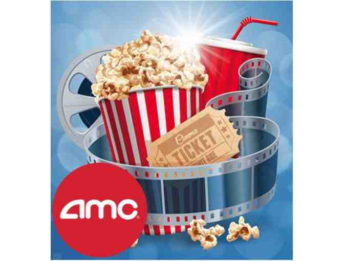 Two (2) AMC Movie Theater Tickets