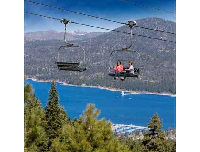 Snow Summit Scenic Sky Chair Rides for Four (4) Guests