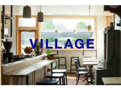 $50 Gift Certificate to Village Coffee and Goods in Kingston, NY