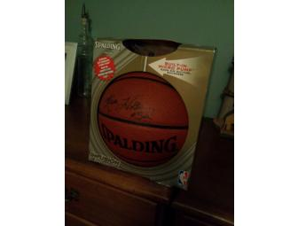 Kara Wolters signed basketball-