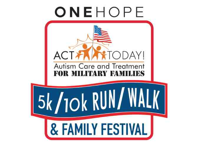 Pair of Registrations for 2018 ONEHOPE ACT Today for Military Families 5K in San Diego - Photo 1