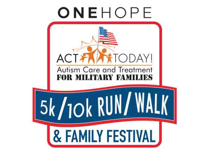 Pair of Registrations for 2018 ONEHOPE ACT Today for Military Families 10K in San Diego - Photo 1