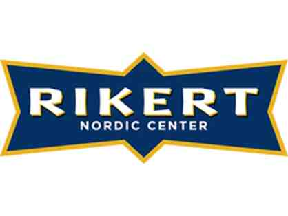 Cross Country Ski Passes for Rikert Nordic Center for Two People Value $50