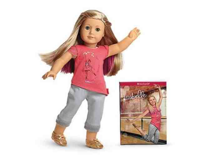 American Girl 'Isabelle' with paperback book Meet Isabelle
