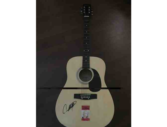 Carrie Underwood Acoustic Guitar with Letter of Authenticity - Photo 1