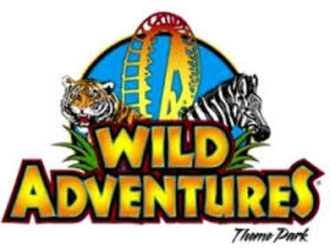 4 Complimentary Admission Tickets to Wild Adventure Theme Park