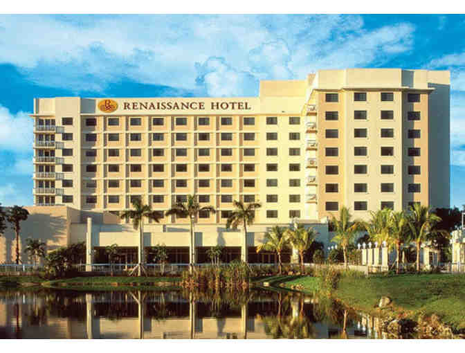 Two Night Weekend Stay with Buffet Breakfast for 2 at the Renaissance Ft Laud/Plantation