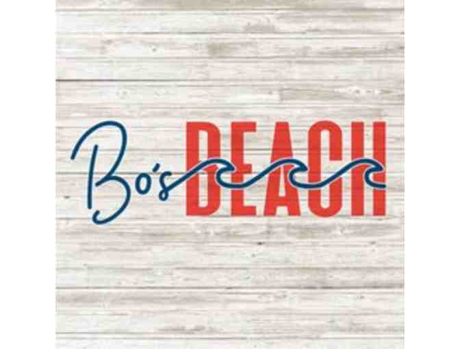 $100 Gift Certificate to Bo's Beach Ft Lauderdale