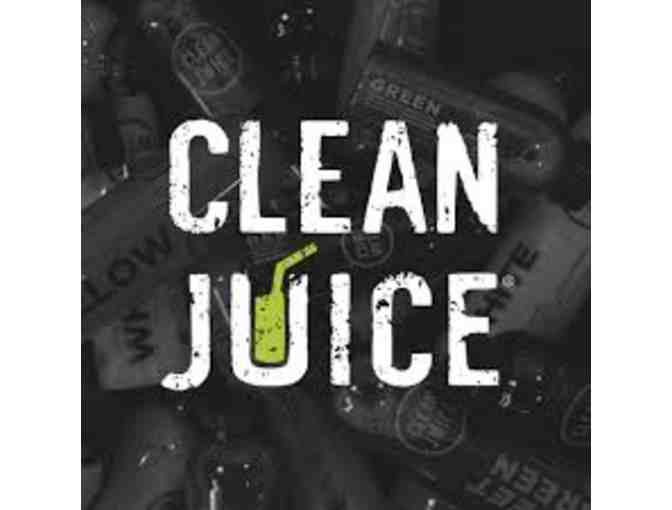 $25 Gift Card to Clean Juice Any Locations