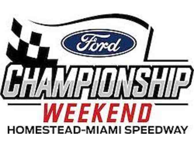 Four (4) Grandstand Tickets to 2020 NASCAR Weekend at Homestead-Miami Speedway - Photo 1