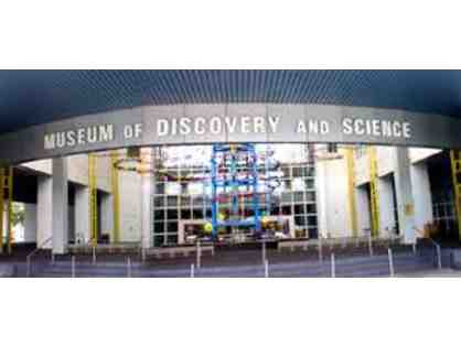 4 Exhibit Admission Passes to Museum of Discovery and Science
