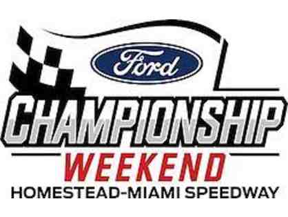 Four (4) Grandstand Tickets to 2020 NASCAR Weekend at Homestead-Miami Speedway