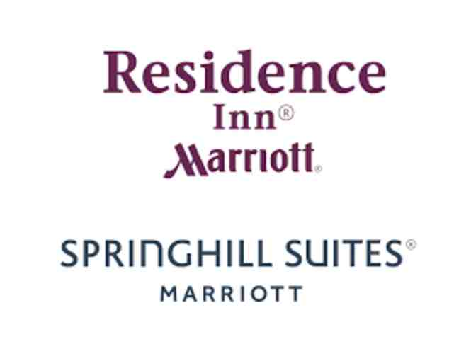 1 Complimentary Hotel Night at Residence Inn Fishkill or SpringHill Suites Fishkill