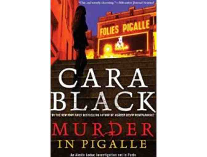 Signed Copies of MURDER IN PIGALLE & MURDER ON THE CHAMP DE MARS, by Cara Black
