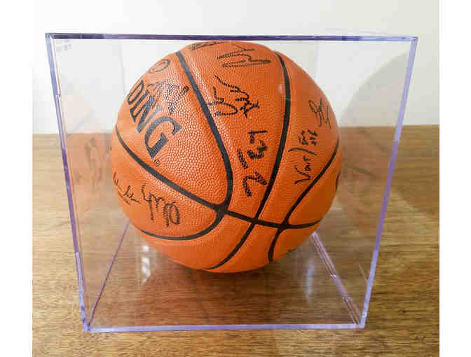 Golden State Warriors Autographed Basketball - Signed By The 2017 Team!