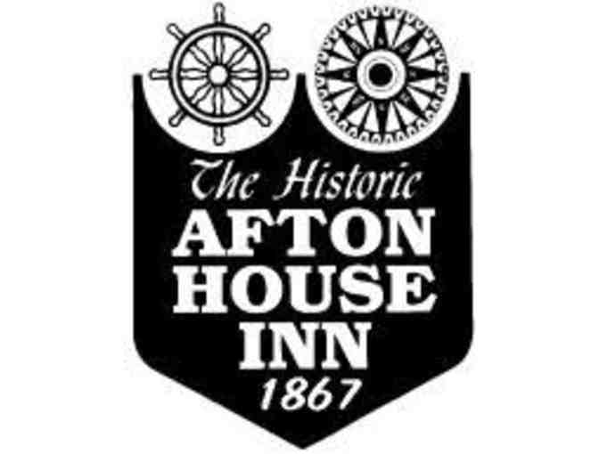 Afton House Inn - $235 Gift Certificate towards a Jacuzzi & Fireplace Suite