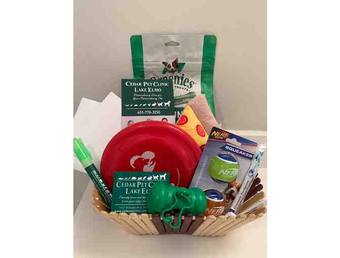 Cedar Pet Clinic Pet Gift Basket