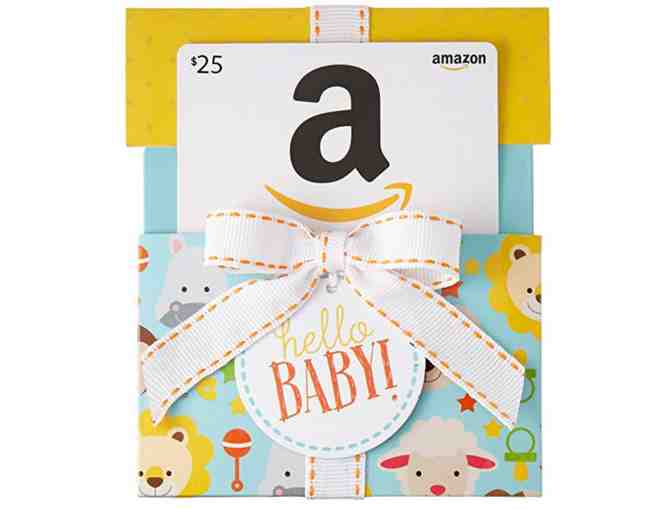 Amazon Baby Giftcard and Handmade Quilt