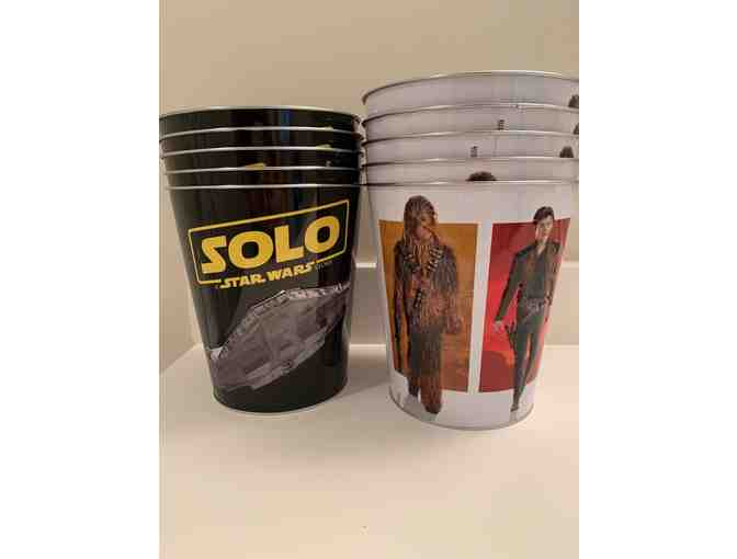 Han Solo Collectible Popcorn Tins, set of 10 (2 of 2)
