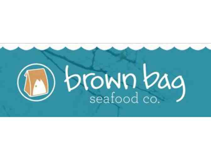 Brown Bag Seafood $25 gift certificate