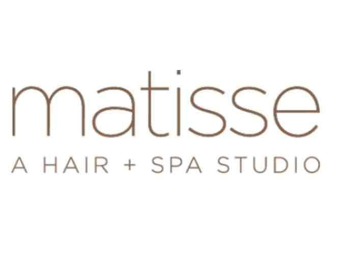 $100 gift certificate for any hair or spa service at Matisse