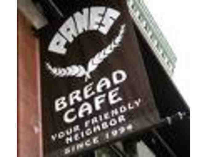 $10 Panes Bread Cafe Gift Certificate