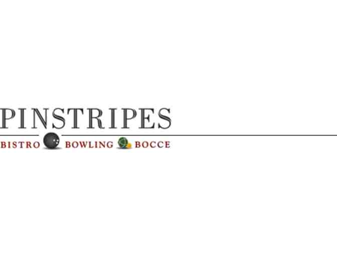 Pinstripes - $50 Gift Certificate